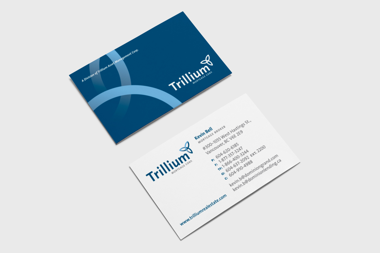 Trillium business card